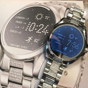 Michael kors rhinestone Bradshaw smart watch